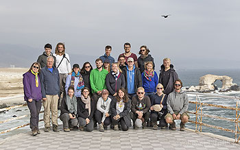 Excursion group La Portada