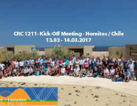 CRC 1211 Kick-off Workshop, Hornitos (Chile) 13-14.03.2017