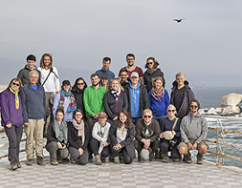 Student excursion to North and Central Chile